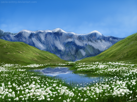 Wild Alps by VinceSwift