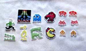 Cross Stitch Atari Sprite Collection by agorby00