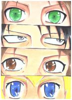 Doll Eyes: Attack on Titan by RukiaRyoka786
