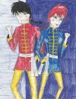 Ranma Saotome--Double Trouble by Captain-Chaotica
