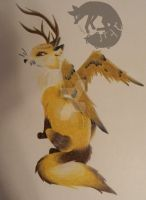 Mythical Spirit by CybertechFoxArt