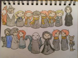 Harry Potter fanart by LilyScribbles