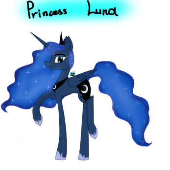 Princess Luna by Melinabek