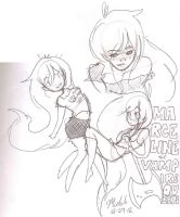 ~a few Marceline doodles~ by SiXProductions