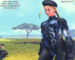 Cammy Special Forces Intro Pic 2 by BrutalAce