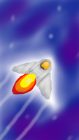 Rocket (Sketchbook App) by JimmyPiranha