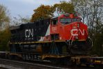 Wrecked CN ES44DC 11-6-11 by the-railblazer