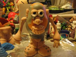 unpainted Ghoul Potatohead by Potatoheadmaster