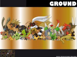Oryu wall: Ground type by shinyscyther