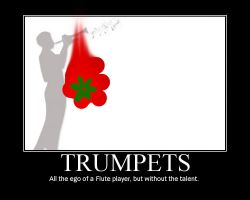 Trumpets.. by Chuck-the-ADDragon