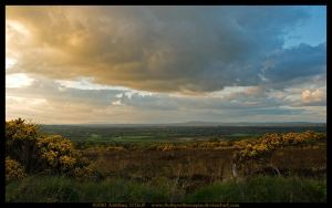 Evening Landscape, Ireland by fluffyvolkswagen
