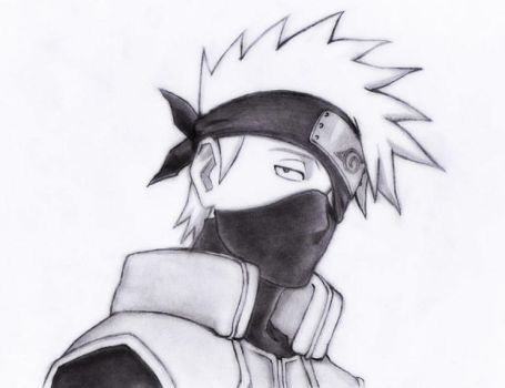 Hatake Kakashi by Bleach9