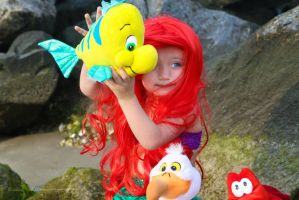 The Littlest Mermaid: Flounder, you're the best! by Kaida-Kitsune