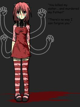 .:Elfen Lied:. colored by renegade-chimera