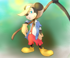 Scarecrow Mickey by chumo824