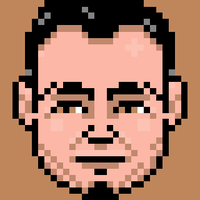 Mykle, animated pixel-portrait by Starstew