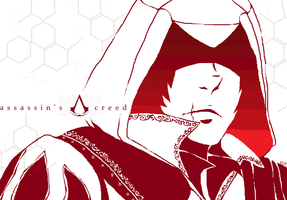 doodles: Ezio by Koolaid-Girl