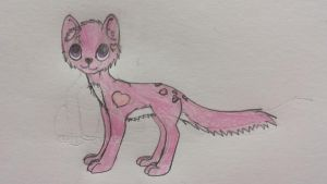 Love kitty adoptable(OPEN) by Fun-dragoness