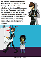 Kaiba's biggest enemy... by Jackasaurusrex
