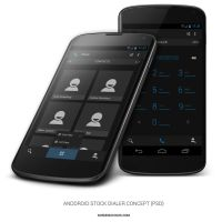 Android Stock Dialer Concept by xNiikk