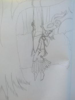 swingin' it~ .:draw evertything june:. by seth-ravenclaw