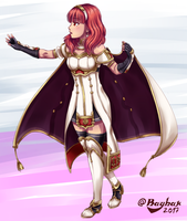 Fire Emblem Echoes: Shadows of Valentia - Celica by Rayhak