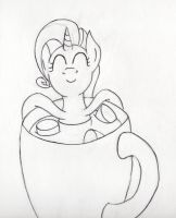 Cocoa with marshmellows by hushnowquietnow