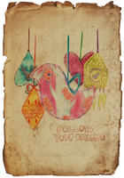 follow your dreams by Chowkarou