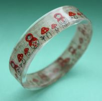 Russian doll bangle by BazaarHereToday
