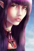 Claire Portrait Collab by GreekMuscle