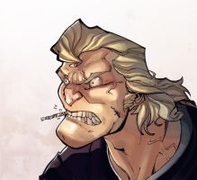 Brock samson colored 2 by Alex0wens