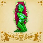 Daily Donut: Voodoo Dollface by SpicyDonut