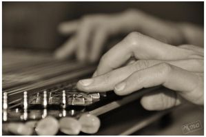 playing zither by Tyc01101