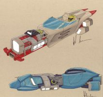 DN Grav hot rods 1 by Jepray