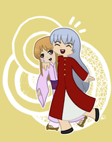 Ritsu and Ayame Sohma by Snuckledrops
