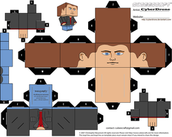 Cubee - Dean Winchester by CyberDrone