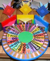 My 2014 Wheel of Fortune Model by germanname