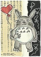 13-050 Totoro Walk (Win this card :3) by Artistically-DE