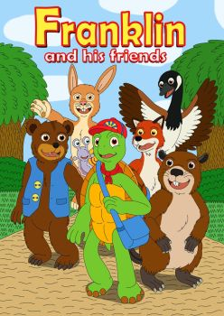 Franklin and his friends by MCsaurus