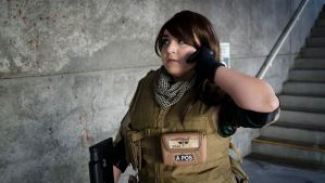 Comikaze: Piers Nivans (RE6) 'Piers to HQ' by AngelicCosplay