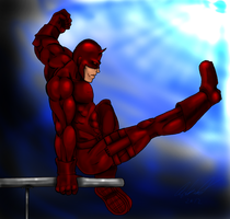 Daredevil Jump by Wessel