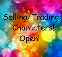 Selling/Trading Characters! Closed species! OPEN by Pandalon