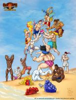 Street Fighter III Summer by Alexlapiz