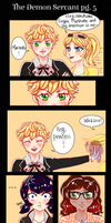 The Demon Servant Ch.1 pg.5 ML Comic by PatchedUpArtist