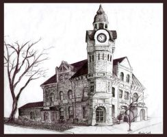 Old Post Office, Napanee by ButterflyInDisguise