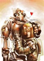 rObOT LoVE by m-U-n-s-t-e-r