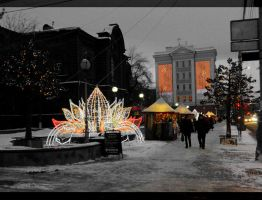 Krasnojarsk New Year market by MissLumikki