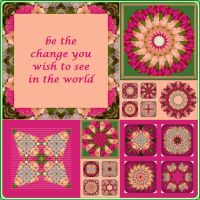 Be the Change Mandala by tiannei