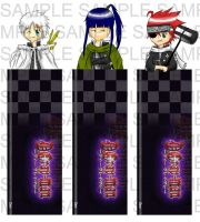 D. Gray-man Bkmk Collection by ome-okane