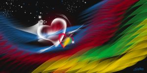 Heart has many Colours by satishverma
